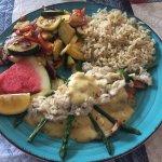 Grouper Oscar - Seagrape Seafood Market, Palmetto FL