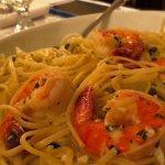 Shrimp scampi was special
