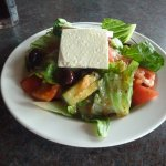 A yummy greek salad