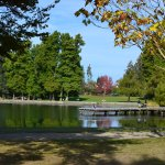 Greenlake Park, just a few minutes walk from Greenlake Guesthouse