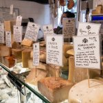 A portion of the cheese selection at Formaggio