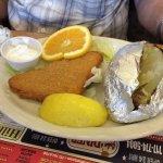 Haddock & Baked Potato (senior portion)