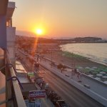 Sunset from balcony