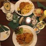 Pork Schnitzel and Jagger Schnitzel