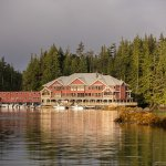 Scenic setting for King Pacific Lodge