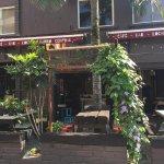 Barrio Central Cafe Bar's beer garden...