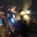 View fro the 18th floor. Was raining this night