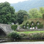Llanwrst Tearooms complete with Bridge