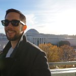 One of the best views in DC is from the Newseum rooftop balcony. Don't miss it!