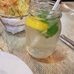 Lemon mint drink