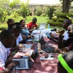 Tweetup meeting by @Maskani254 with #MaskaniEldoret, MaskaniNakuru and #TribelessYouth