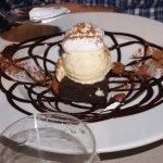 Coulant con helado