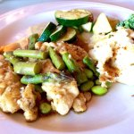 Chicken Breast Scallopine