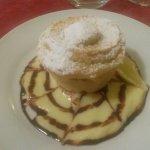 Dessert im Rahmen der Halbpension