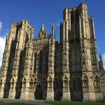 Wells Cathedral from the hotel