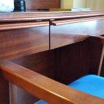 silla y escritorio