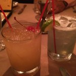 Coco Lasso , one of the many margaritas