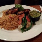 Cajun Chicken and Rice with fresh seasonal vegetables