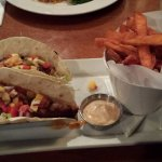 Basa Fish Taco Meal with Sweet Potato Fries