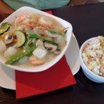 Coconut Shrimp with Scallops