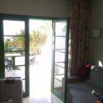 Balcony and main room