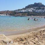 Lindos Beach Foto