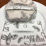 It's a Hexagon-shaped Sandwich!