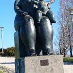 Estátua de Botero.