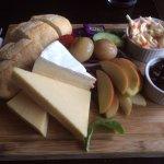 Lunch at The Plough Inn, Badbury