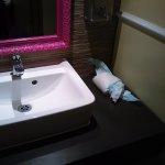 nappie in ladies toilet