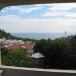 Aussicht mit Balkonbereich