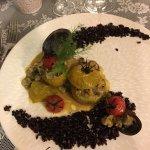 tomates farcies revisitées aux fruits de mer