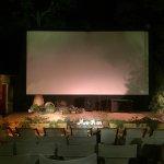 Open Air Cinema Kamari Foto