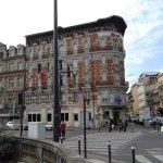 Hotel IBIS MATABIAU vu de la gare