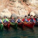 Kajakklubben Strømmen på Milos