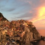 Manarola at Sunset!