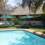 Main pool surrounds
