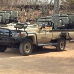 The Toyota Land Cruiser - an excellent safari vehicle