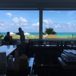 View from the bar! Absolutely awesome day at Hilton Cabana Miami Beach