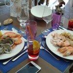Buffet de crustacés à volonté