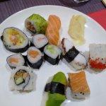 Sushi misto! Ottimi tutti i roll!