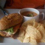 The Memphian with Tortilla soup (Choose 2 menu)