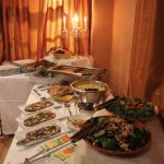 Lunch Buffet - warm and inviting!