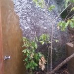 Shower at the campsite