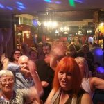 Busy in the golfers during live music!