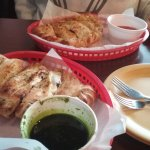big and delicious Calzones
