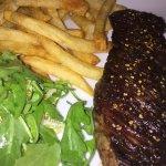 Skirt steak w/ pommes frittes - delicious!!