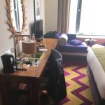 Images of our room at the Fitzwilliam Dublin