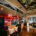 The inside of the Totara Bar