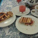 Esempio colazione con ottima scelta dal salato al dolce